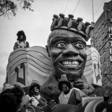 Louis Armstrong Float